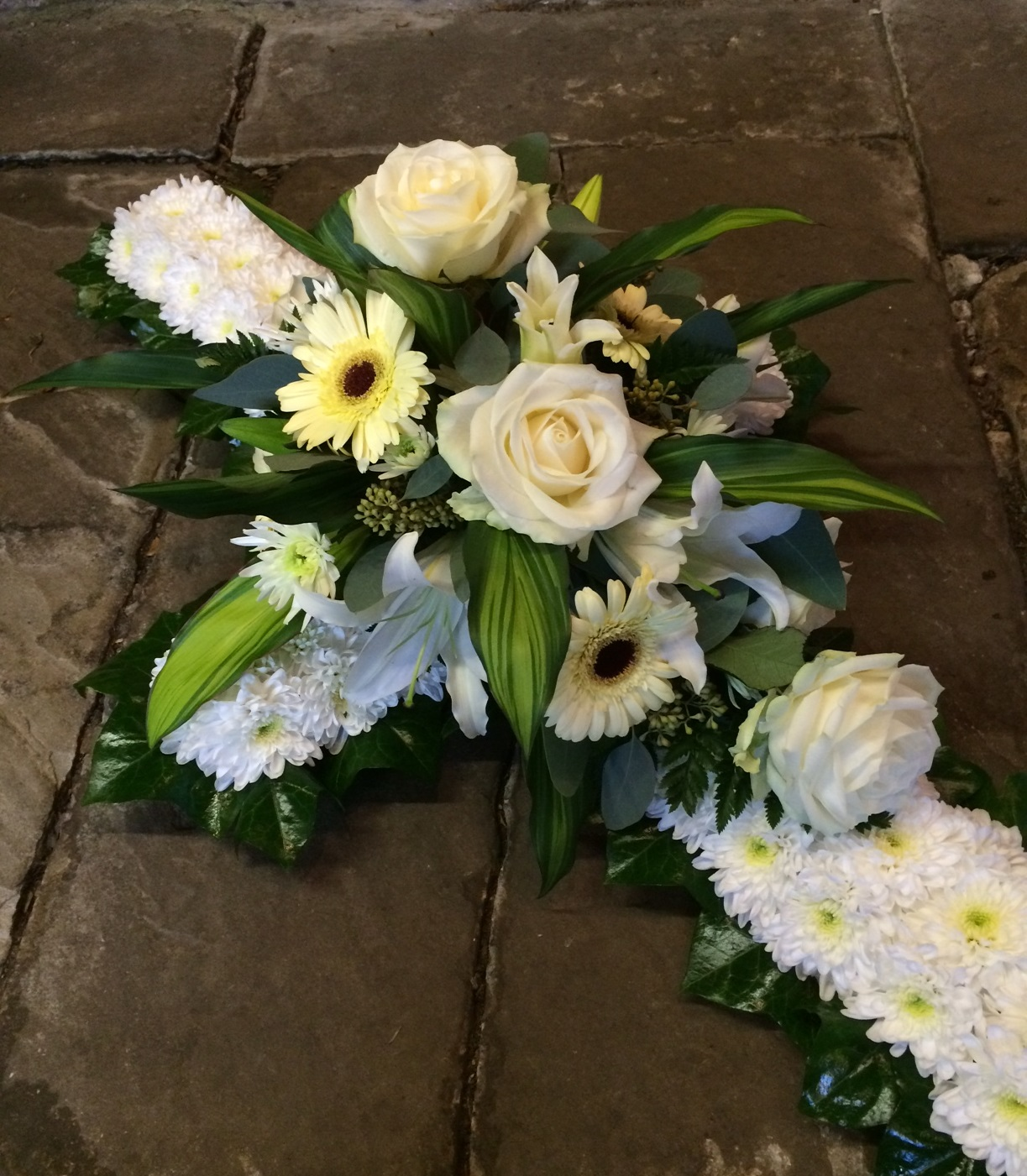 Funeral flowers and floral tributes in hindley green wigan funeral flowers rainbow izmirmasajfo Image collections