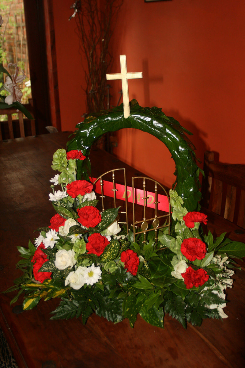 Funeral flowers and floral tributes in hindley green wigan funeral flowers rainbow izmirmasajfo