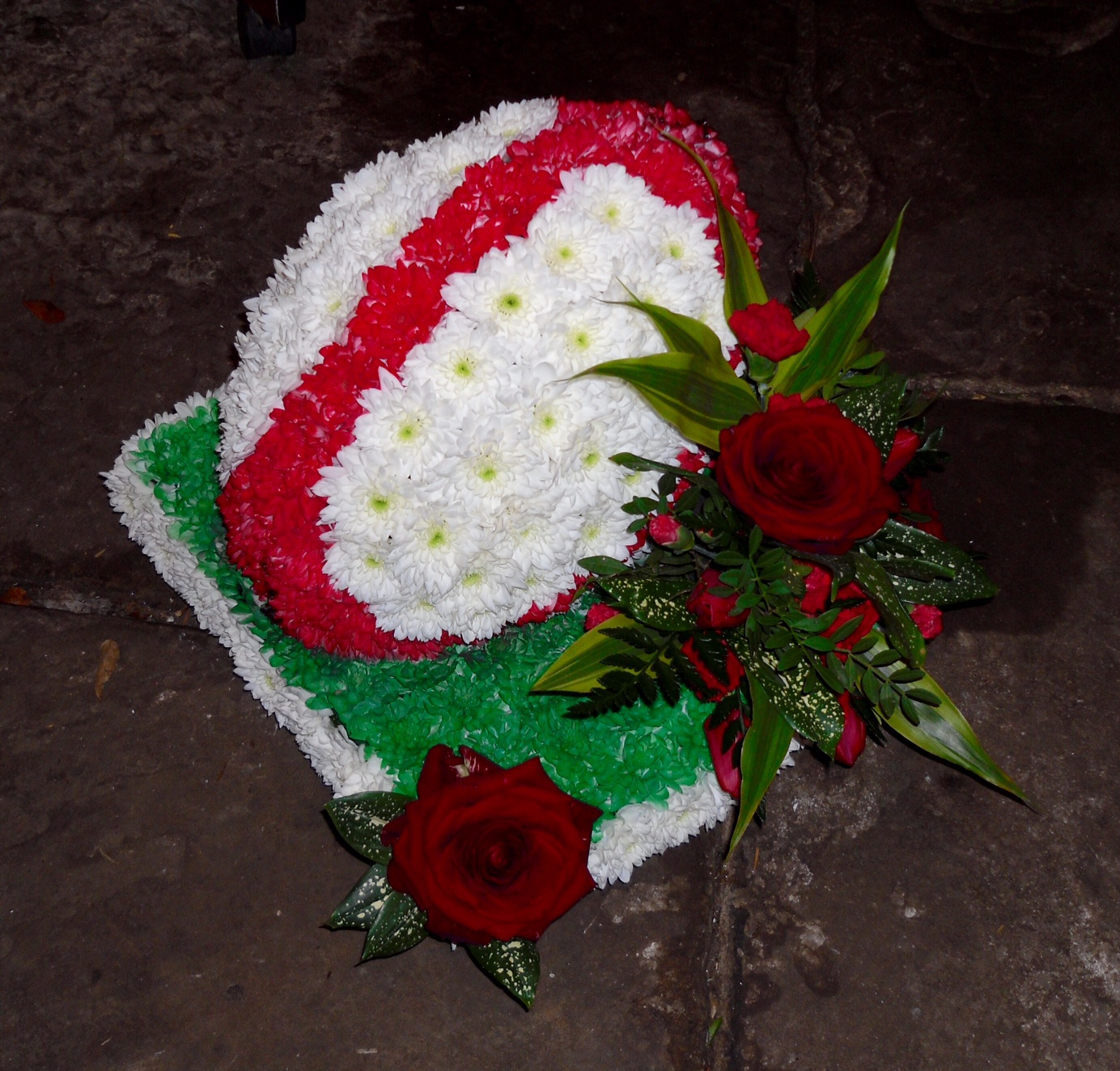 Funeral flowers and floral tributes in hindley green wigan funeral flowers rainbow alder izmirmasajfo